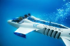 The Necker Nymph Submarine