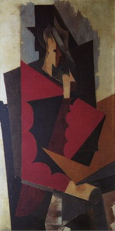 Pablo Picasso - Sitting Man, 1917