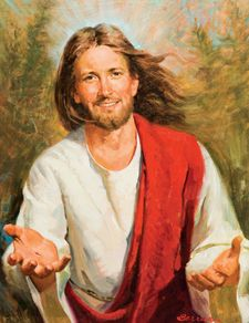picture of jesus smiling