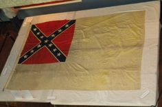 The Stainless Banner, CSA Second national flag  (May 1, 1863 – March 4, 1865)