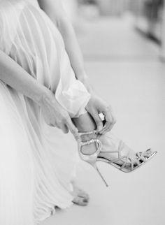 Joshua Tree Elopement from Jose Villa Photography + Kristeen LaBrot Events Jimmy Choo, Bride Shoes, Wedding Shoes, Wedding Dresses, Wedding Day Tips, Wedding Pics, Wedding Ideas, Shoe Gallery, New Shoes