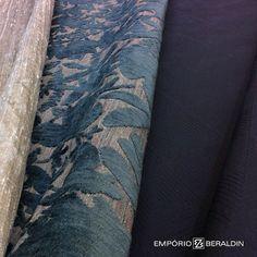 Mais uma seleção de tecidos para estofados e cortinas.