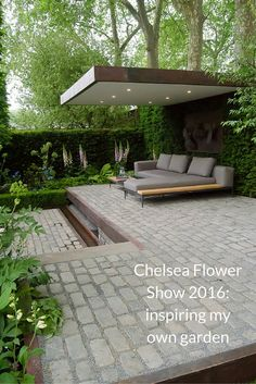 Visiting the Chelsea Flower Show 2016 and using the show gardens as inspiration for practical ways to improve your own outdoor space.
