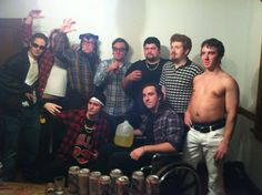 Trailer Park Boys group costume