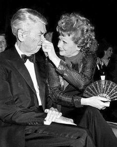 Jimmy Stewart and Lucille Ball