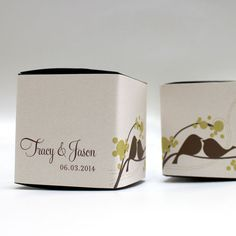 52 Best Love Bird Wedding Favors images   Bridal Shower, Candy boxes ...