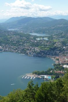 Lugano, Switzerland One of my favorite places in the world!