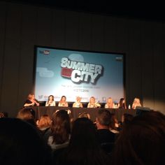 Beauty and fashion panel in Summer in the City!