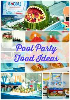 Pool Party Food Ideas @HUGGIES Baby Shower Planner Baby Shower Planner #LittleSwimmers Pool Party with @Tendo Wavamunno (sponsored)