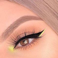 Edgy Makeup, Makeup Eye Looks, Creative Makeup Looks, Eye Makeup Art, Cute Makeup, Makeup Goals, Pretty Makeup, Eyeshadow Makeup, Makeup Tips