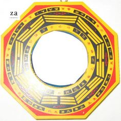 Convex Bagua Mirror Feng Shui cure to increase protection from dangerous neighbors from Zen Appeal. Feng Shui Entryway, Feng Shui Front Door, Feng Shui Mirrors, Feng Shui Bedroom, Feng Shui Health, Feng Shui Cures, Feng Shui Poison Arrows, Feng Shui Tools, Feng Shui Apartment