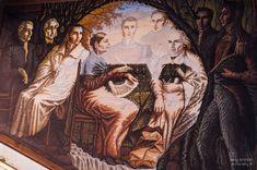 Murales de Octavio Ocampo en Celaya, Guanajuato. Imágenes de la fotógrafa Paty Aranda http://patyaranda.blogspot.mx/ miguel-hidalgo.jpg (600×399)