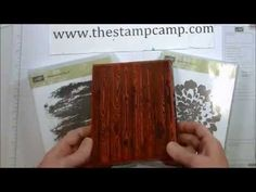 Tuesday's Tips & Techniques Inking Background Stamps - www.thestampcamp.com