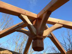 Timber Frame Kingpin