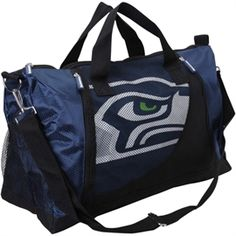 Women's New York Giants Mesh Pocket Duffel Bag