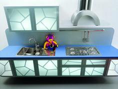 A very unusual kitchen design!
