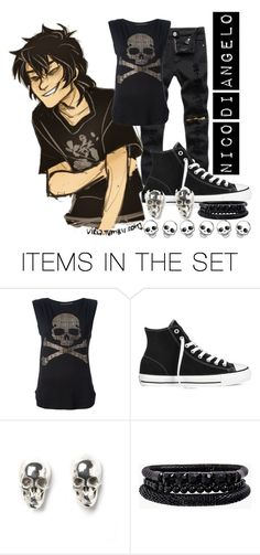 """""""Nico"""" by jeff-the-killer-cp ❤ liked on Polyvore featuring art"""