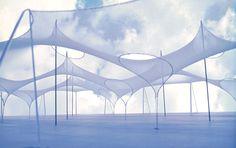 Imagen 2 de 5 de la galería de Clásicos de Arquitectura: Pabellón Alemán, Expo '67 / Frei Otto y Rolf Gutbrod. Fotografía de Frei Otto
