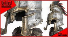 Dain Ironfoot's helm United Cutlery, Movie Props, Self Defense, Master Chief, The Unit