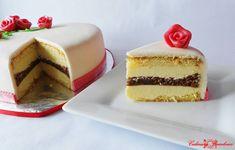 Reteta culinara Tort Raffaello (Valentine's Day) din categoria Torturi. Cum sa faci Tort Raffaello ( Valentine's Day )