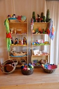 let the children play: inspiring waldorf / steiner preschool learning environments