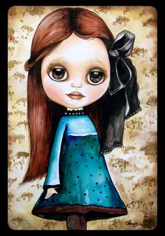 My Prints for Decoupage (568 p.) | Learn crafts is facilisimo.com Claudia Tremblay, Decoupage Paper, Collector Dolls, Tv Commercials, Big Eyes, Blythe Dolls, Girl Pictures, Little Girls, Disney Characters