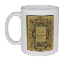Jane Austen Novels Coffee or Tea Mugs - Perfect Gifts for Jane Austen Lovers