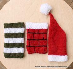Christmas phone pockets