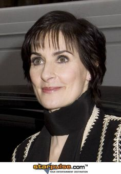 Enya, the most recent picture of her, she is getting older believe it or not.
