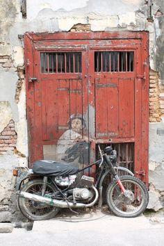 [Carte postale] Lebuh Ah Quee le street art de George Town (Penang Malaisie) 3d Street Art, Amazing Street Art, Street Art Graffiti, Amazing Art, Awesome, Banksy, George Town Penang, Urbane Kunst, Art Du Monde