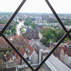 Virw from St. Petri.  Lubeck.  Germany