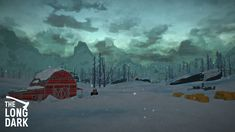 The Long Dark by Hinterland Games. The Long Dark, Fan Art, Illustration, Artwork, Painting, Inspiration, Image, Low Poly, Video Games