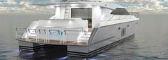 Pachoud Motor Yachts New Zealand - Lola 19.4m Semi Displacement Cat
