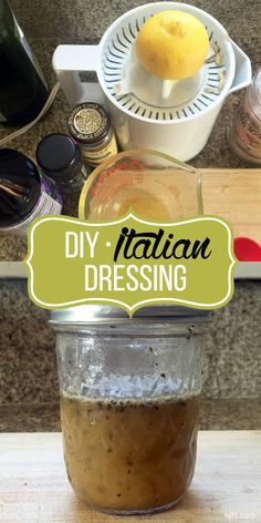 Most salads are healthy until you add icky, store bought, processed dressing. SO I decided to share one of my faves. DIY Italian Dressing. It goes great with almost every salad! Try it out and tell me what you think. Ingredients: ¼ cup Olive oil 3 Tbsp. red wine vinegar 1 tsp. oregano salt and pepper to taste ½ lemon juiced  Directions: SHAKE, SHAKE, SHAKE!