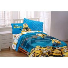 Minions 'Minions At Work' Twin Reversible Bedding Comforter, Multicolor