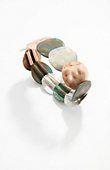 Love this bracelet - painted-metal stretch bracelet | J.Jill
