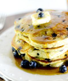 Trisha Yearwood's Blueberry Pancakes - Recipe Diaries