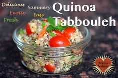 How to Make Quinoa Tabbouleh, A Gluten-Free, Nutritious Dish