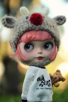 Luca <3, by Nina =^^= via Flickr     #doll #blythe #toy