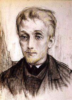"""Prince Lev Nicolayevich Myshkin by Ilya Glazunov for Dostoyevsky's """"The Idiot"""""""
