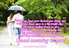 Romantic good morning love poems