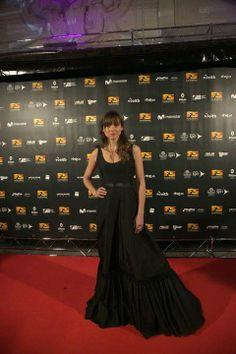 Leonor Watling con vestido de NIHIL OBSTAT en el GAME FESTIVAL 2013. #Fashion #Celebrities #Couture #Dress
