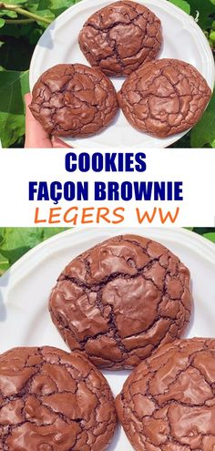 Desserts With Biscuits, Ww Desserts, Ww Recipes, Healthy Recipes, Weigth Watchers, Nutella, Brunch, Food And Drink, Nutrition