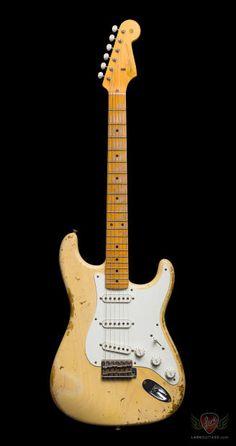 Fender Custom Shop 1957 Stratocaster Heavy Relic - Faded Vintage Blonde (300) | Reverb