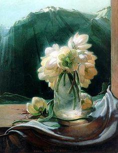 PAUL KIRNIG Christmas Roses (1923)