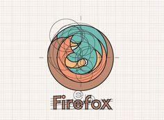 Unofficial Firefox Flat Logo on Behance