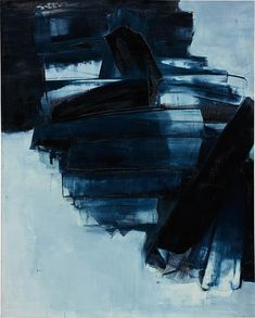 Pierre Soulages (France b. 1929) Peinture, 14 Avril 1962 oil on canvas 162 x 130 cm