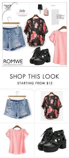 """Romwe 2"" by fashion-addict35 ❤ liked on Polyvore featuring Chanel"