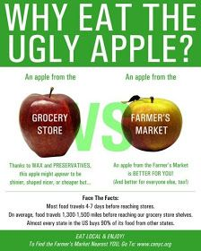 Skinny Diva Diet: Infographic: Why Eat the Ugly Apple?