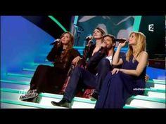 """Elodie Frégé, Patrick Bruel, Hélène Ségara & Lara Fabian """"La chanson de Prévert"""" """"Hier encore"""" - YouTube"""